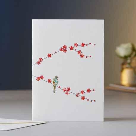 Blank Blossom & Bird EH07