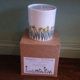 Daffodils Candle