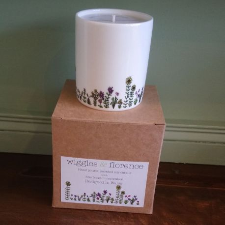 Flowers Candle