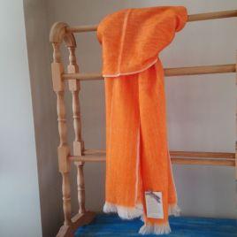 Orange Alpaca Scarf