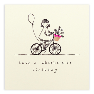 Wheelie Birthday