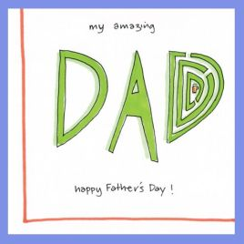 Amazing Dad Card