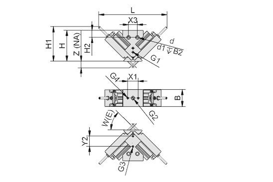 Garra de agujas SNG-V 6 1.5 V-HP-25 > Garras de agujas
