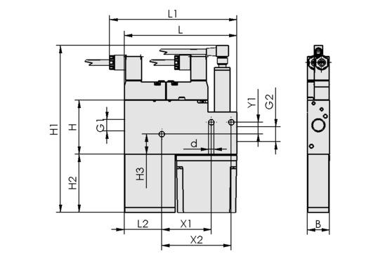 Eyector compacto SMP 30 NO AS VE > Eyectores compactos