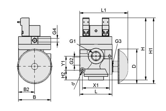 Solenoid valve EMVP 15 24V-DC 3/2 IMP > Solenoid Valves