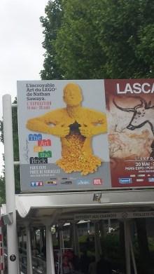 Affiche de l'exposition à Porte de Versailles