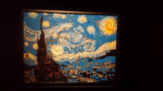 Tableau de Van Gogh en LEGO