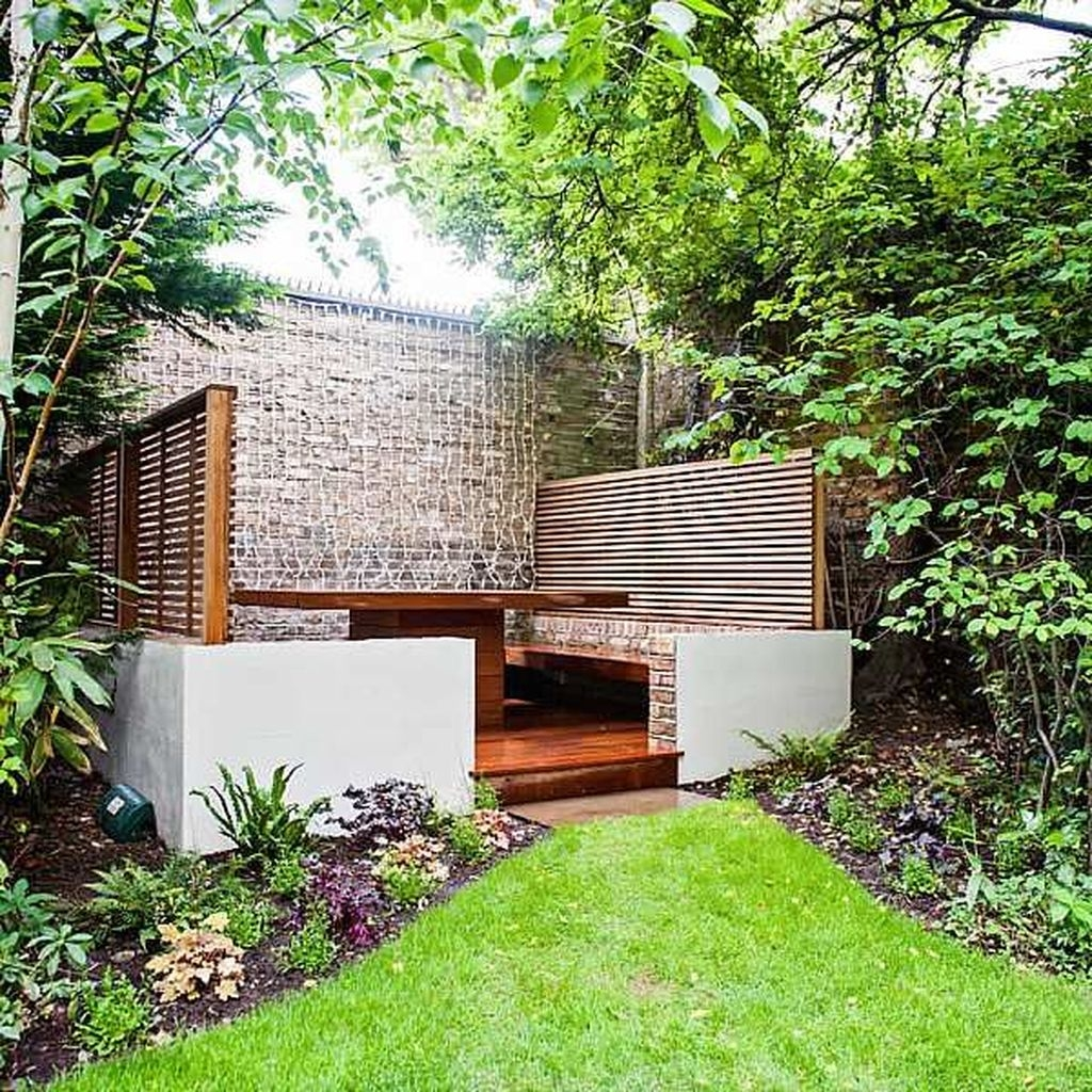 46 Amazing Small Courtyard Garden Design Ideas - PIMPHOMEE on Amazing Backyard Ideas id=14220