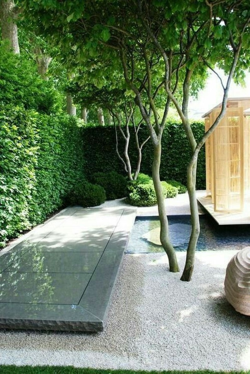 Amazing Small Courtyard Garden Design Ideas 44