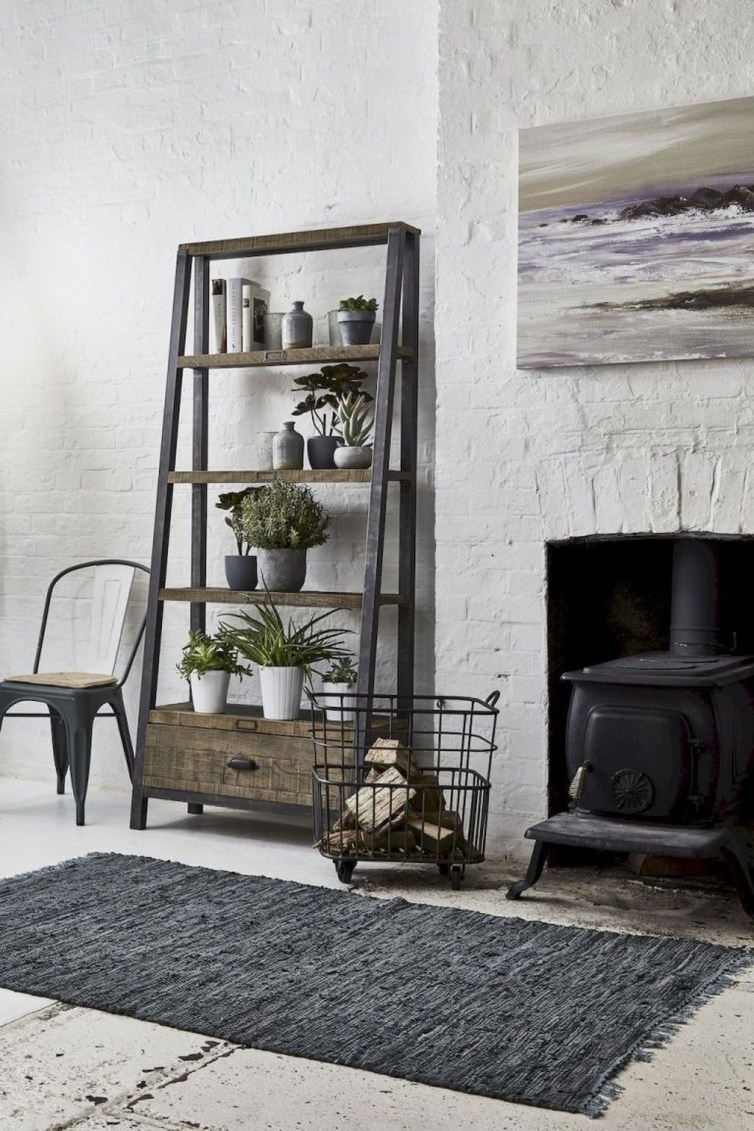 Awesome Modern Rustic Living Room Decor Ideas 09
