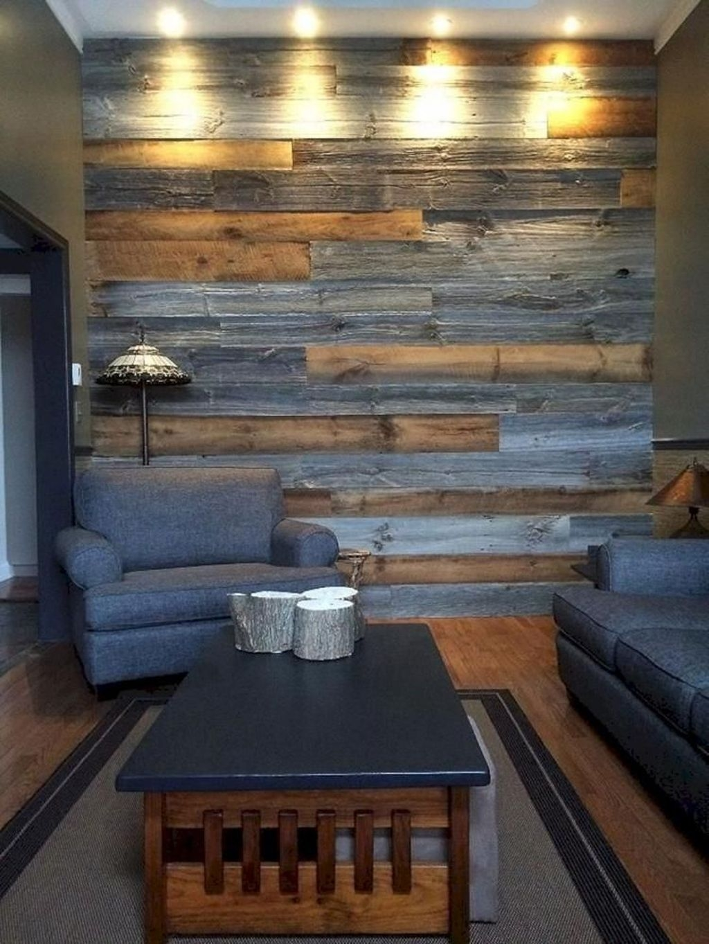 Awesome Modern Rustic Living Room Decor Ideas 20