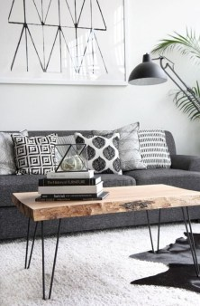 Awesome Modern Rustic Living Room Decor Ideas 35