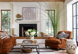 Awesome Modern Rustic Living Room Decor Ideas 41