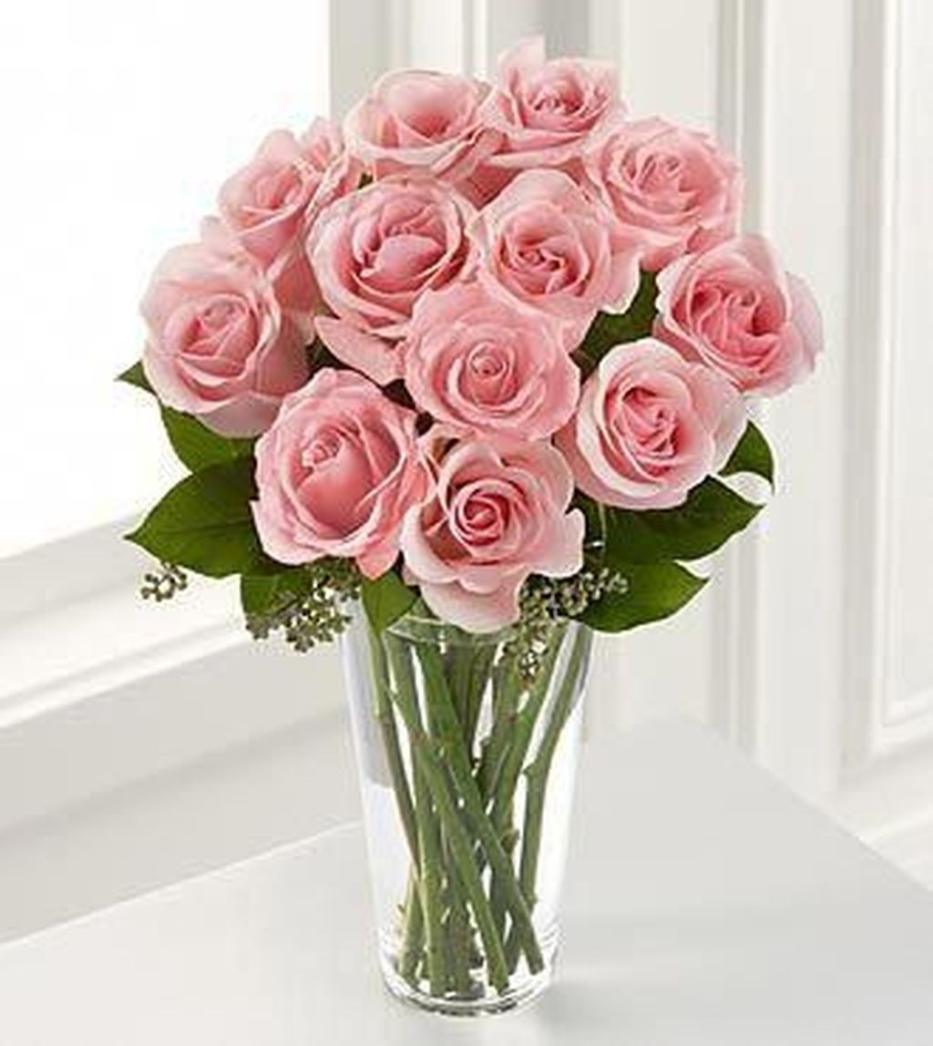 Lovely Rose Arrangement Ideas For Valentines Day 09