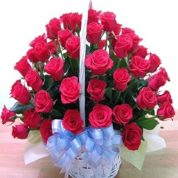 Lovely Rose Arrangement Ideas For Valentines Day 22