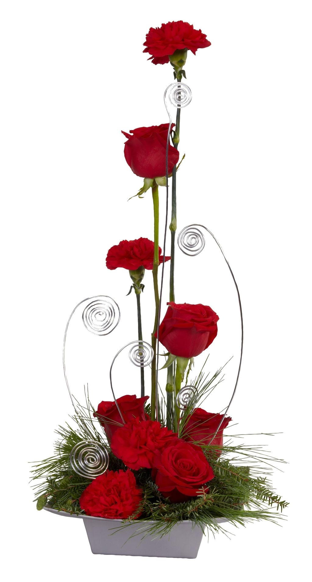 Lovely Rose Arrangement Ideas For Valentines Day 24
