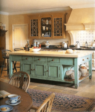 Awesome Rustic Kitchen Island Design Ideas 03