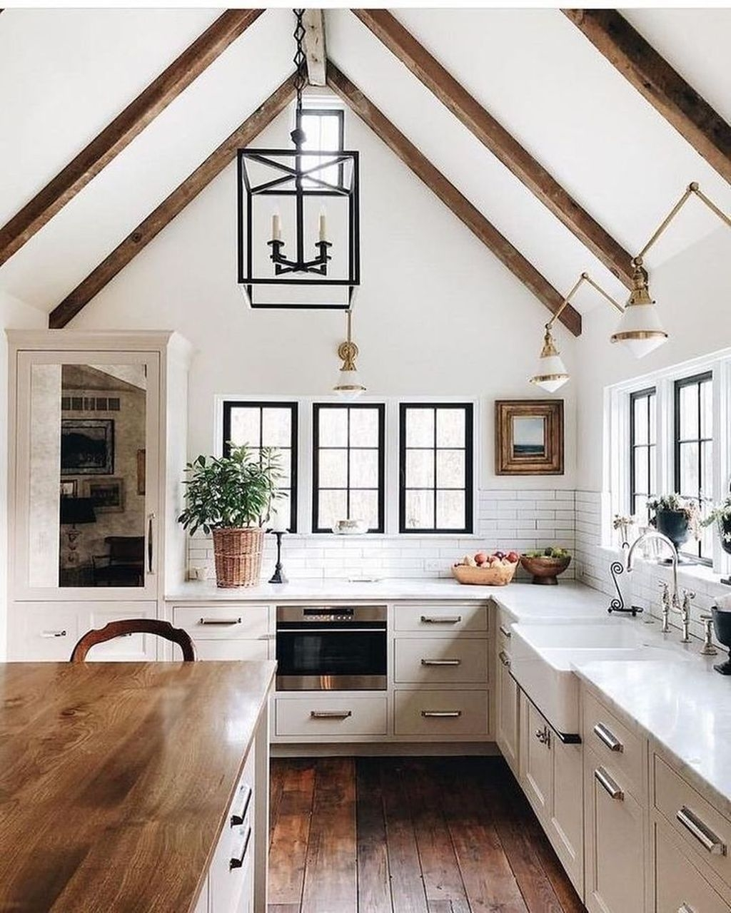 Awesome Rustic Kitchen Island Design Ideas 15