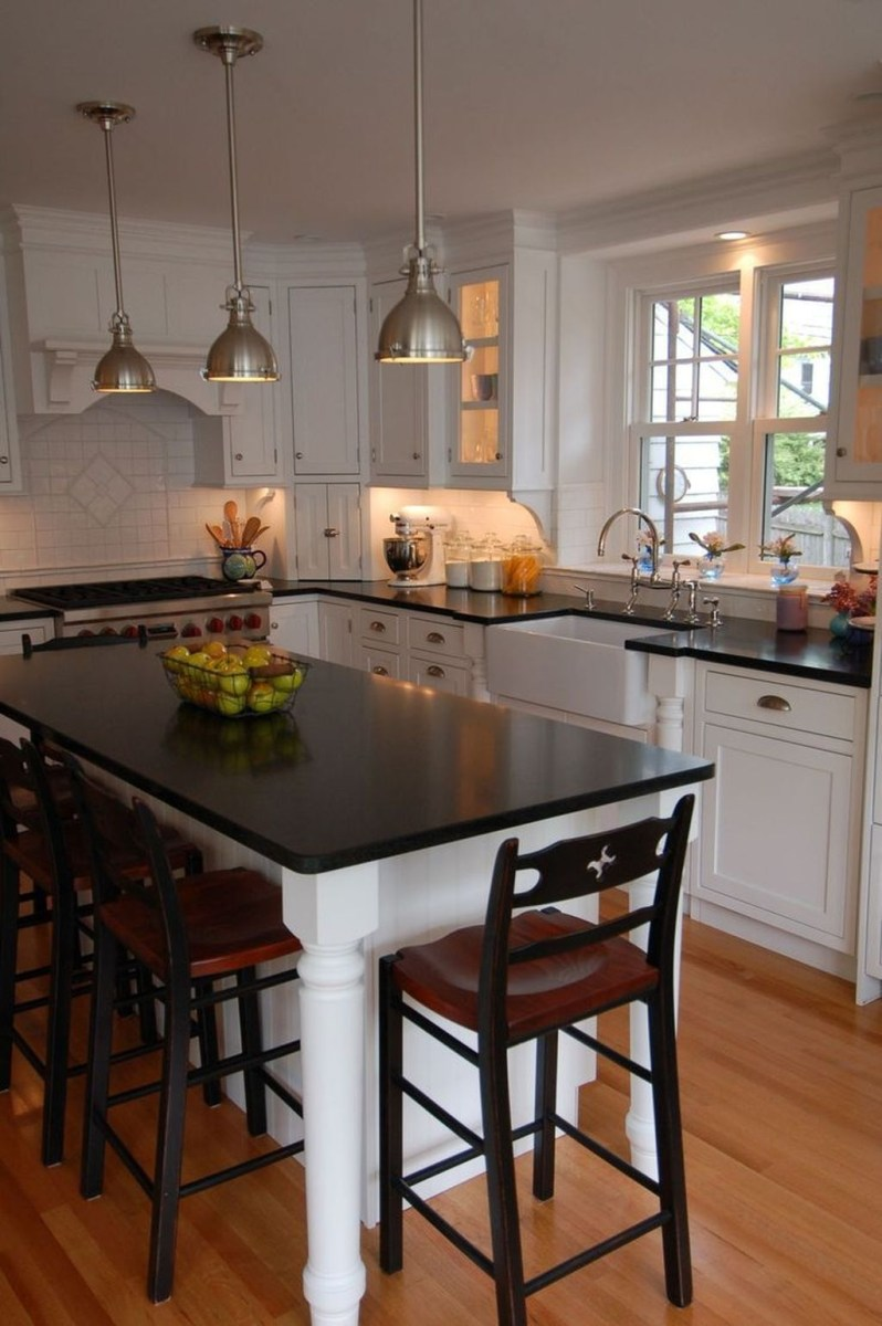 Awesome Rustic Kitchen Island Design Ideas 30