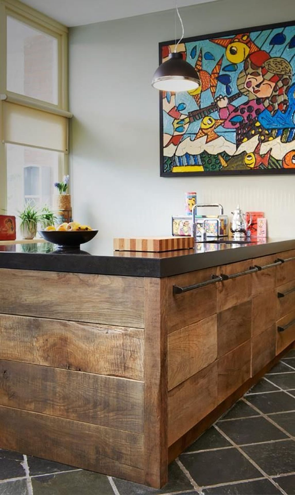Awesome Rustic Kitchen Island Design Ideas 32
