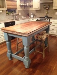 Awesome Rustic Kitchen Island Design Ideas 37