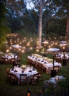 Beautiful Backyard Wedding Decor Ideas To Get A Romantic Impression 10