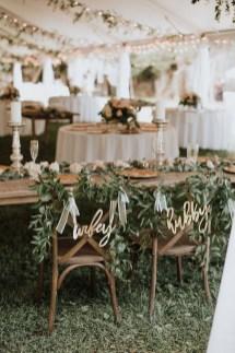 Beautiful Backyard Wedding Decor Ideas To Get A Romantic Impression 11