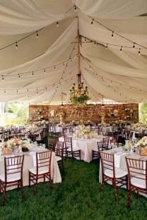 Beautiful Backyard Wedding Decor Ideas To Get A Romantic Impression 19