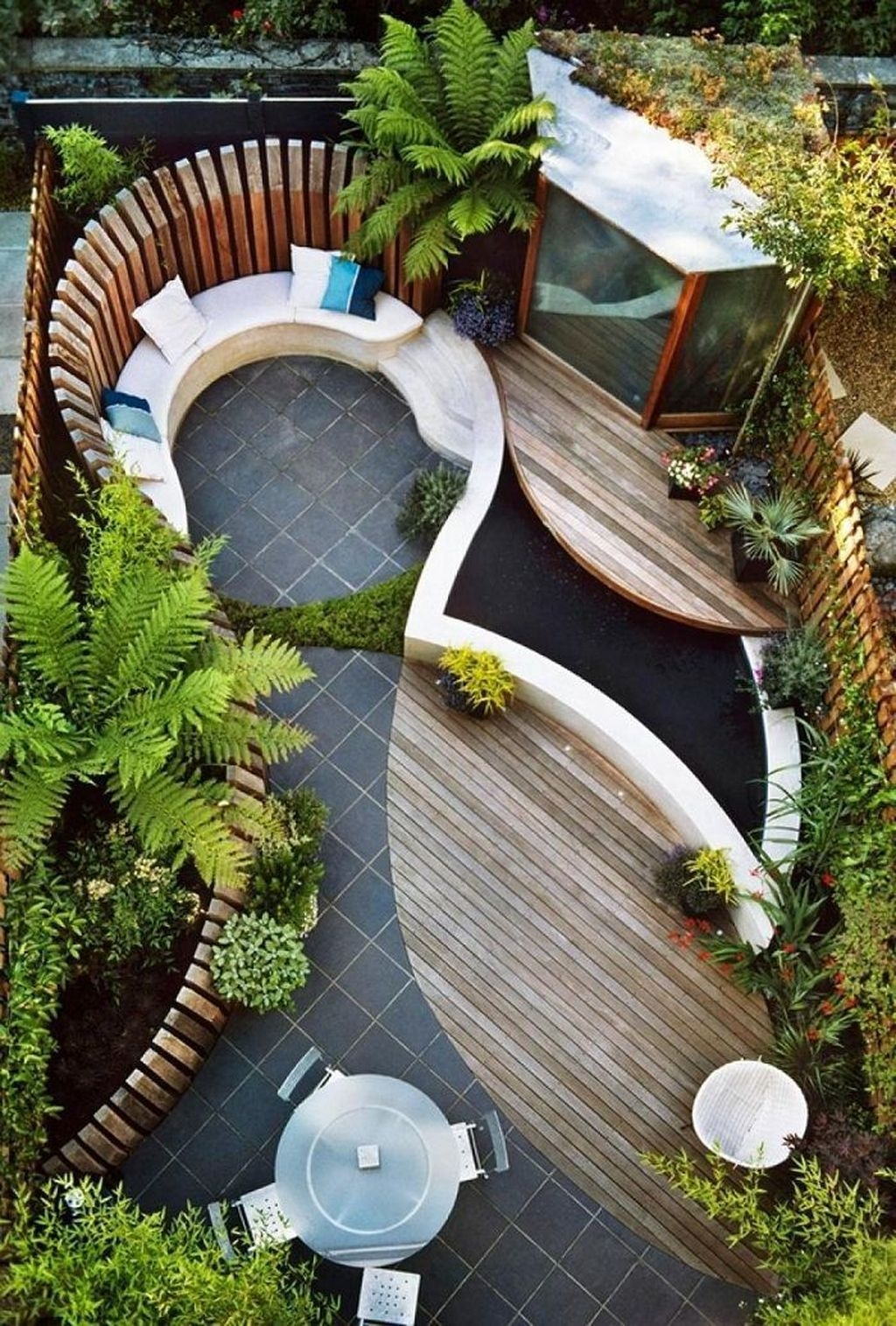 Beautiful Modern Backyard Landscaping Design Ideas 08