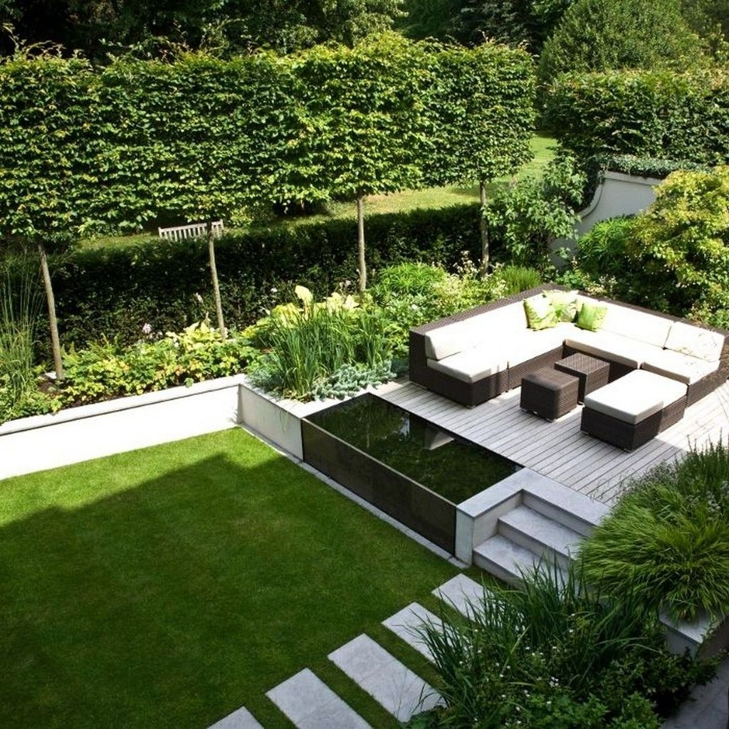 Beautiful Modern Backyard Landscaping Design Ideas 27