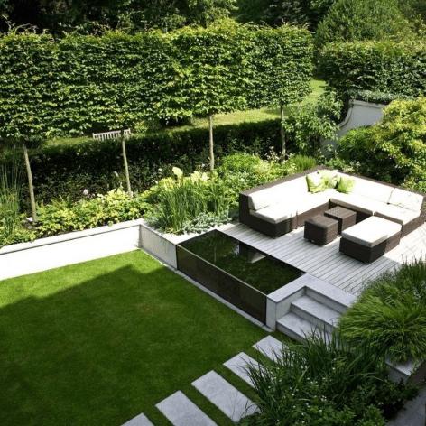 Beautiful Modern Backyard Landscaping Design Ideas 27