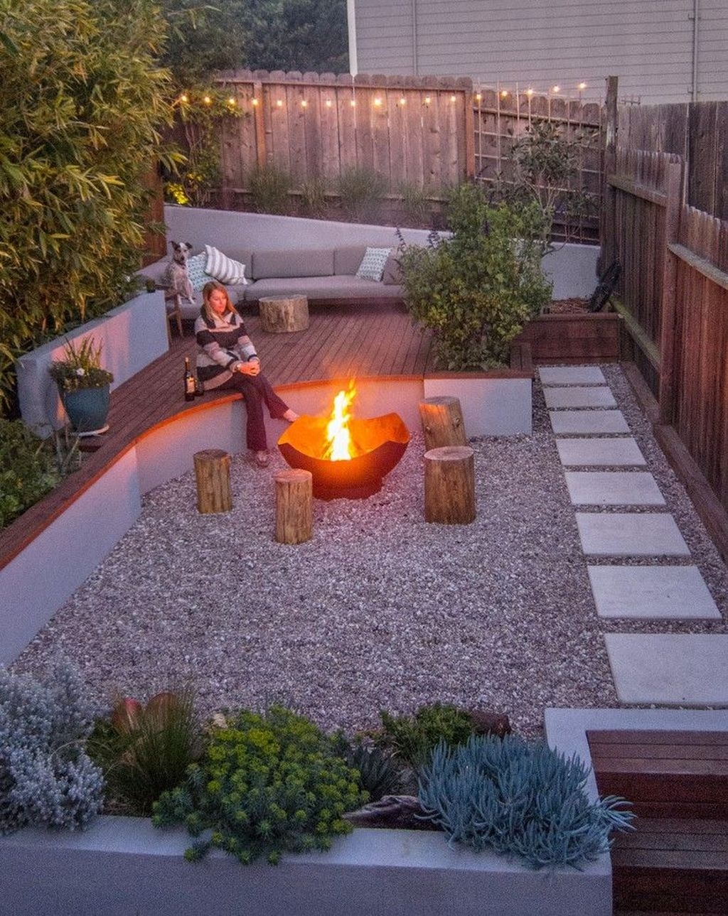 Beautiful Modern Backyard Landscaping Design Ideas 28