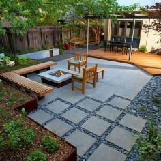 Beautiful Modern Backyard Landscaping Design Ideas 34