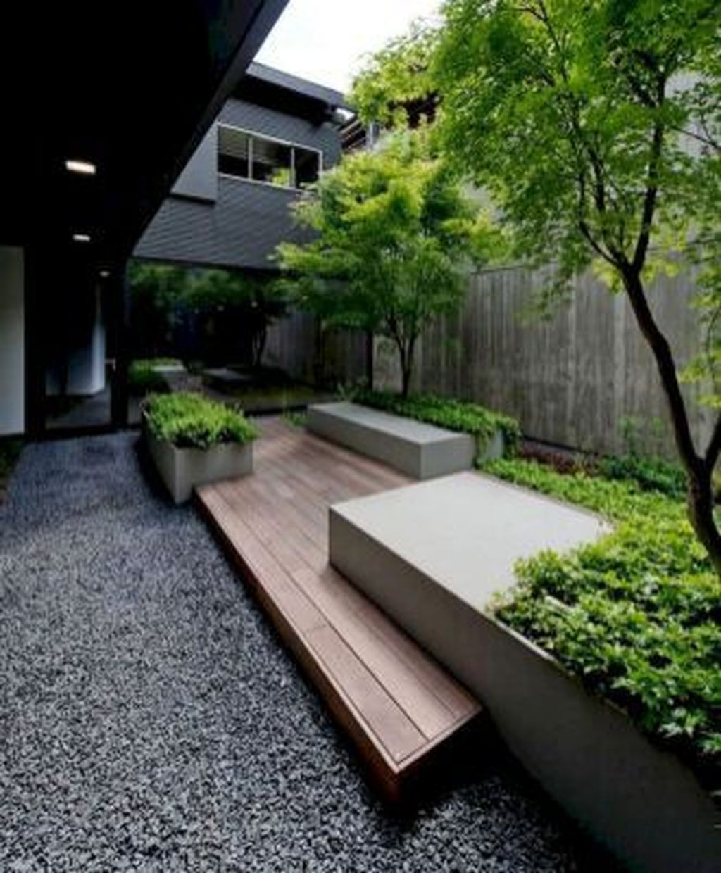 Beautiful Modern Backyard Landscaping Design Ideas 40