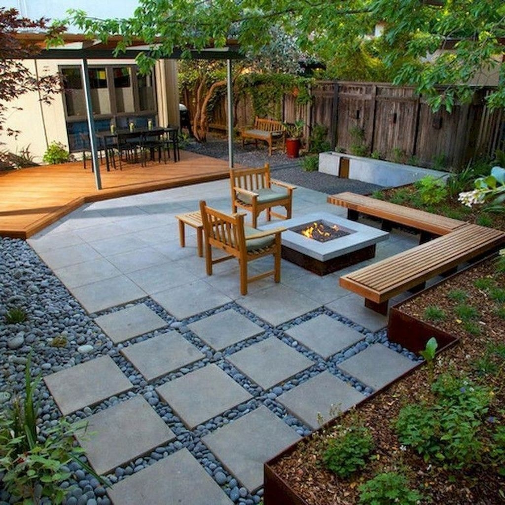 Beautiful Modern Backyard Landscaping Design Ideas 48