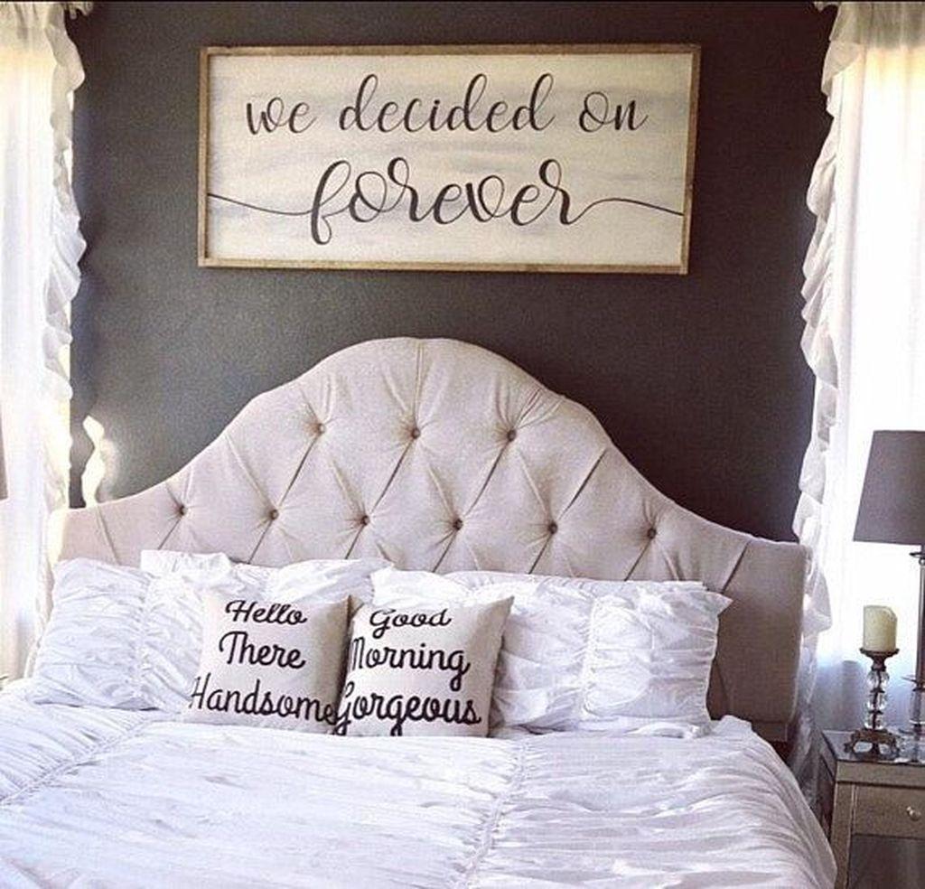 Beautiful Modern Farmhouse Master Bedroom Decoration Ideas 09