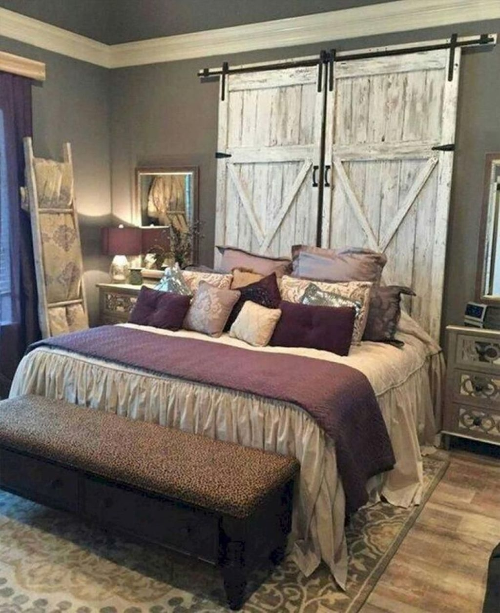 Beautiful Modern Farmhouse Master Bedroom Decoration Ideas 10