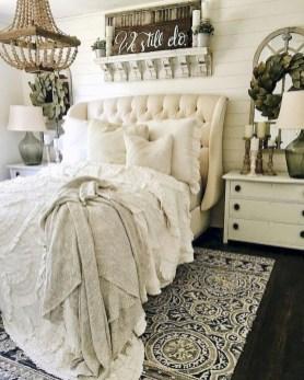 Beautiful Modern Farmhouse Master Bedroom Decoration Ideas 24