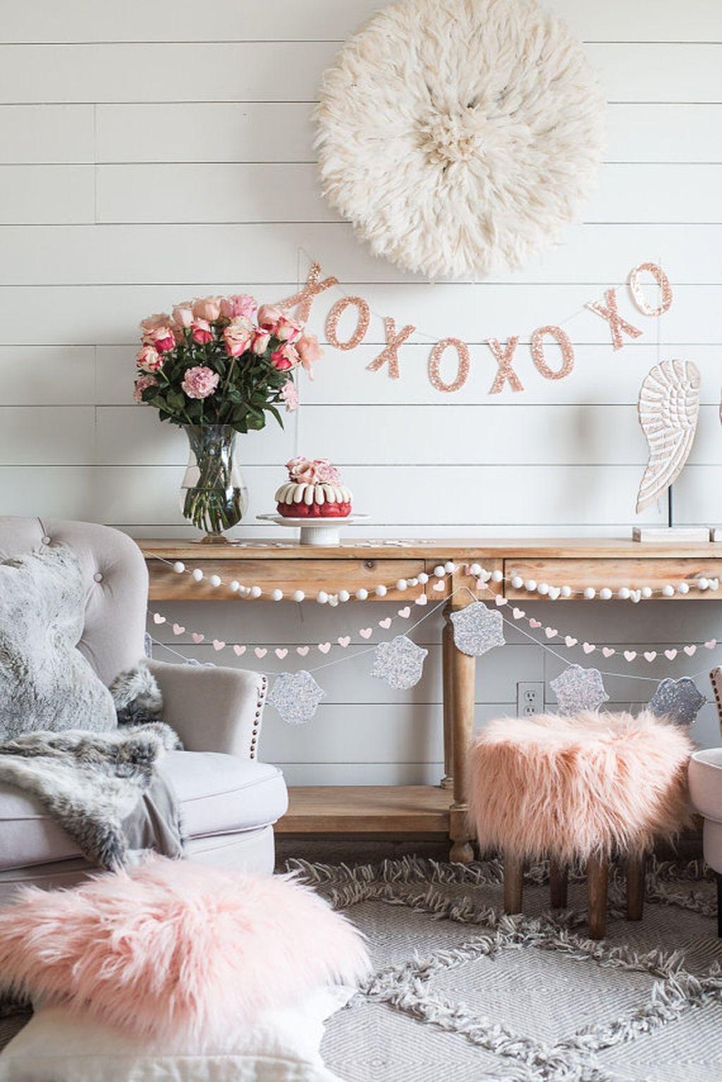 Beautiful Valentine Interior Decor Ideas To Make Him Amazed 01