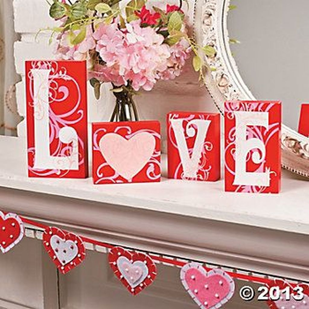 Beautiful Valentine Interior Decor Ideas To Make Him Amazed 29