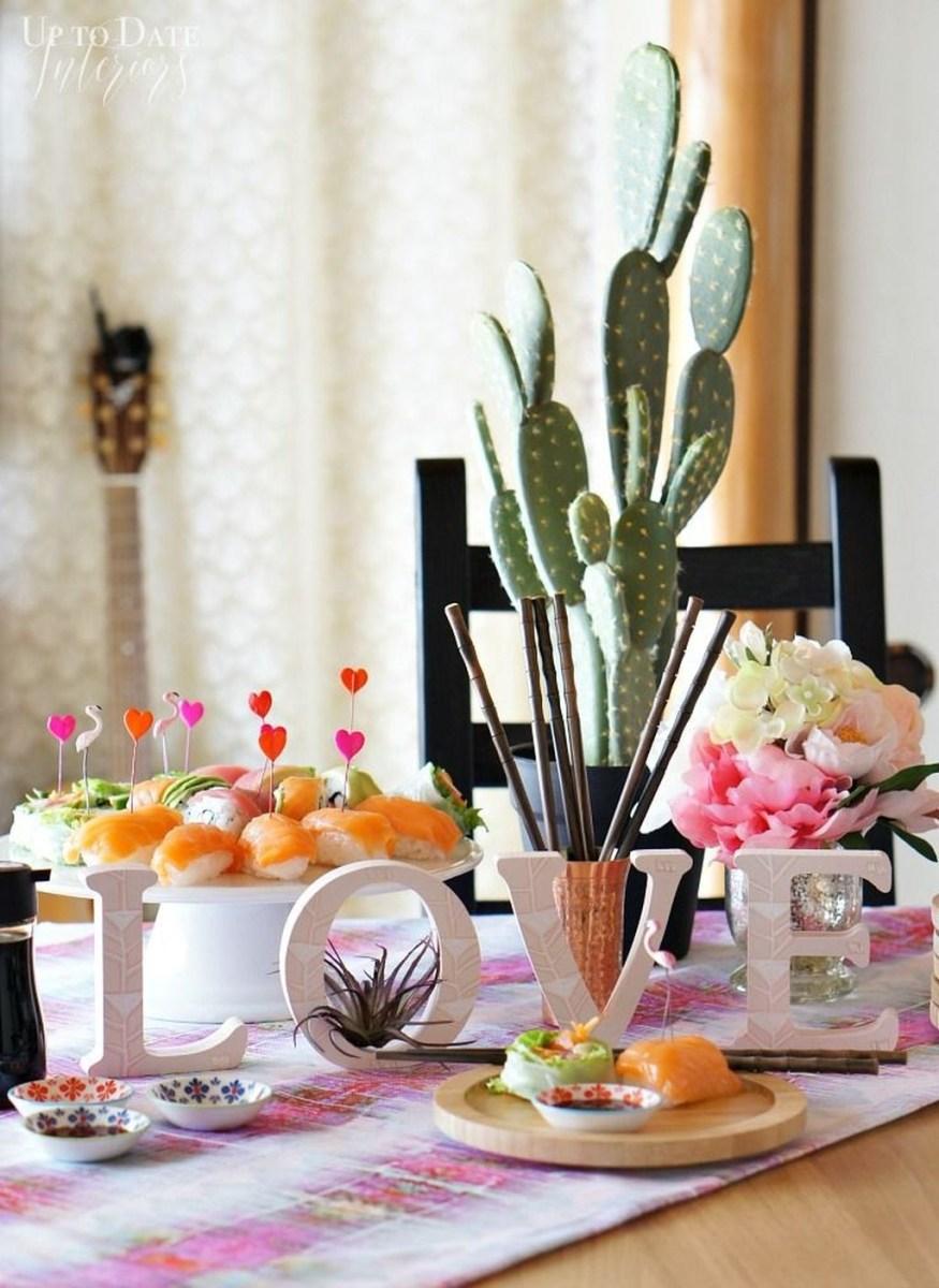 Beautiful Valentine Interior Decor Ideas To Make Him Amazed 33