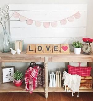Cute Farmhouse Style Valentine Decorations 14