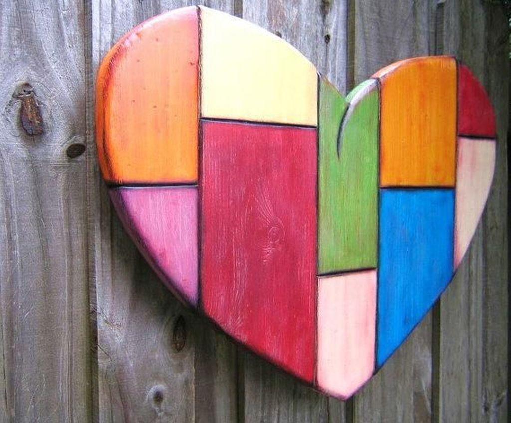 Cute Valentine Wall Art Design Ideas 09