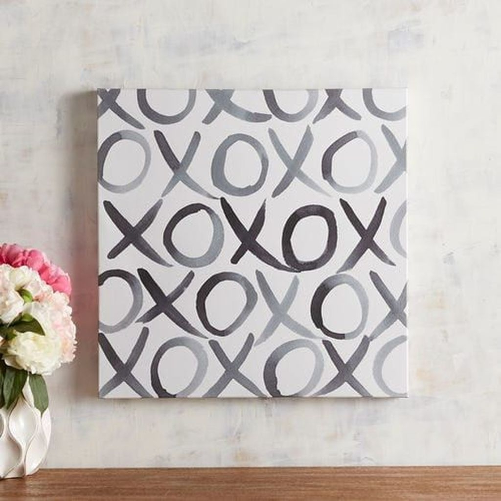Cute Valentine Wall Art Design Ideas 18