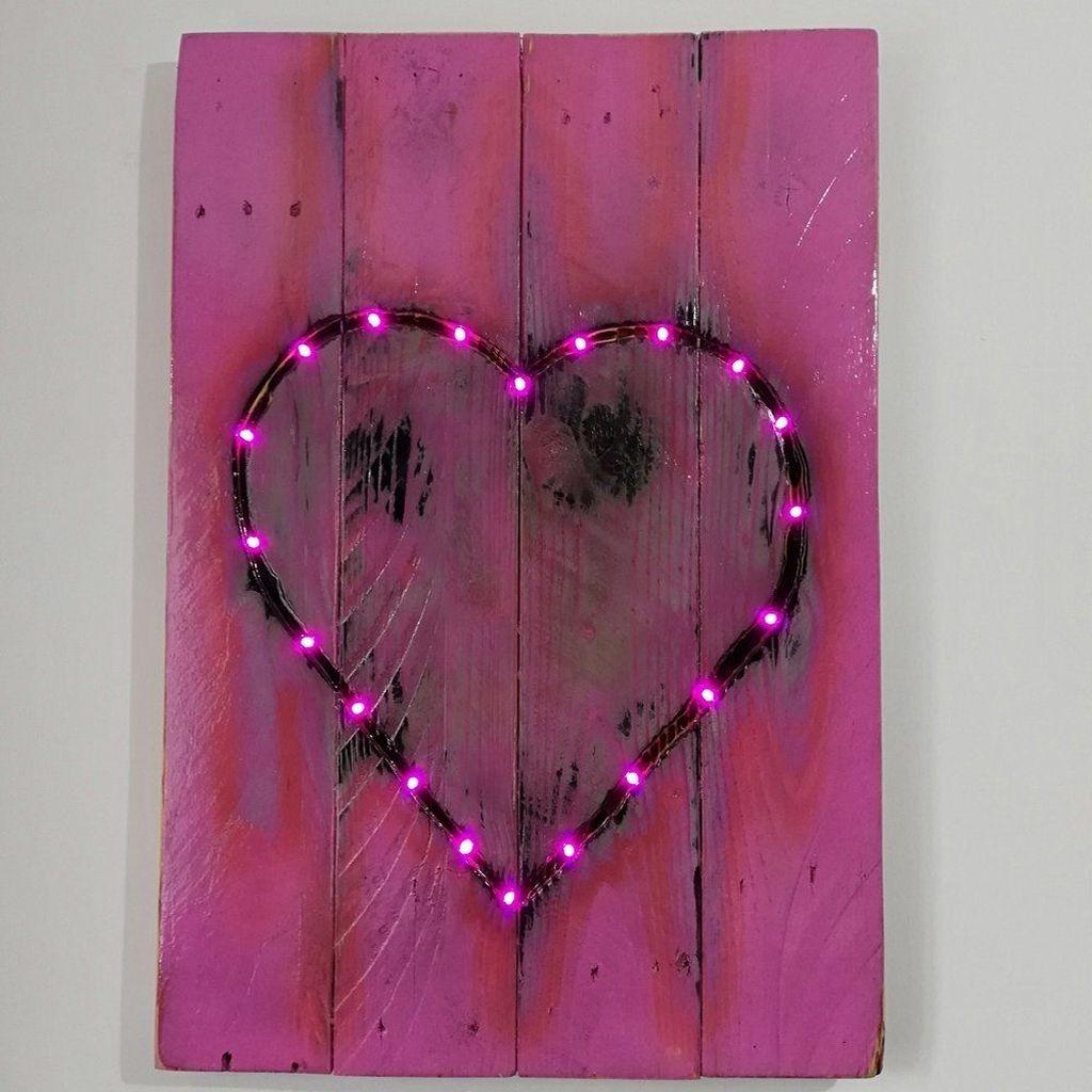 Cute Valentine Wall Art Design Ideas 24