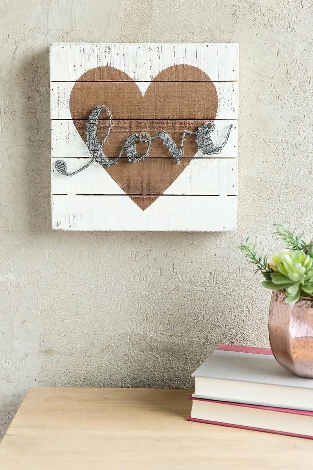 Cute Valentine Wall Art Design Ideas 34