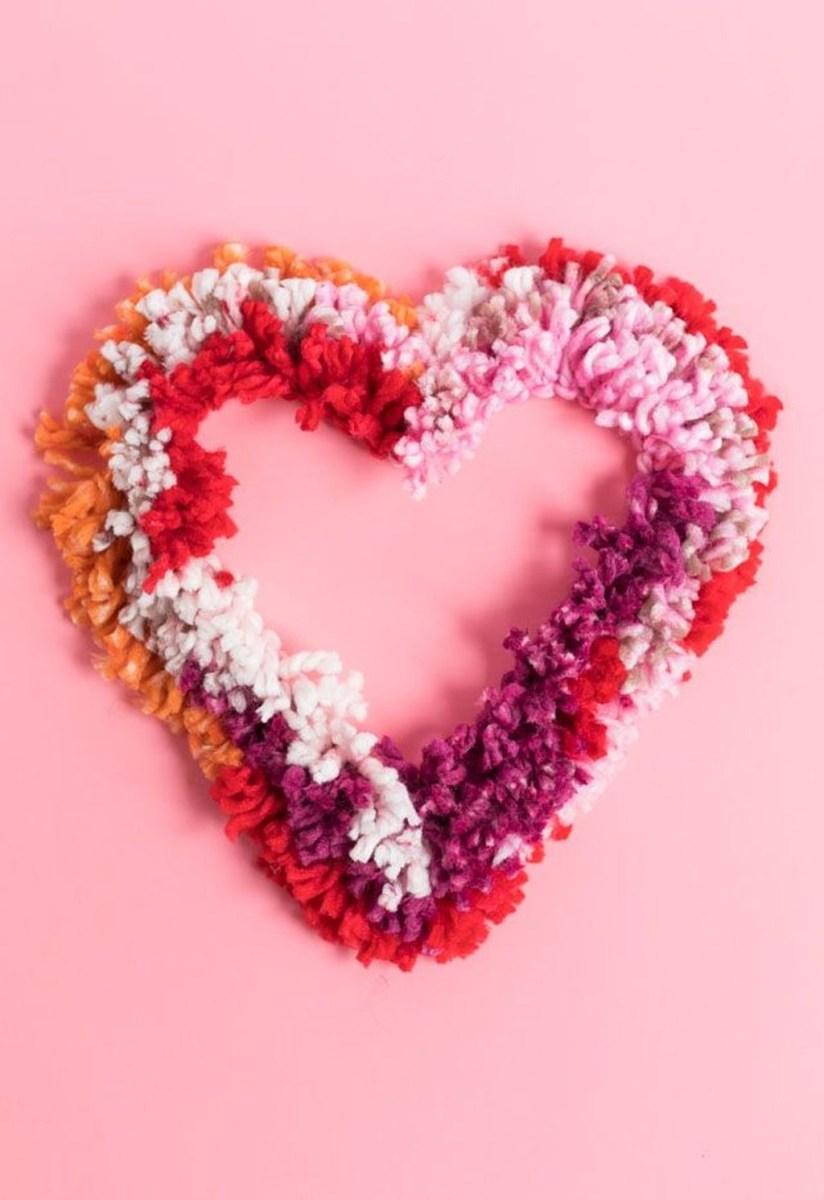 Cute Valentine Wall Art Design Ideas 37