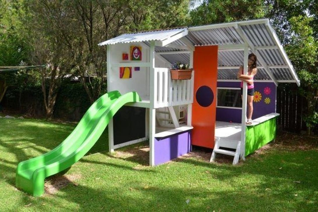 Gorgeous Backyard Playground Kids Design Ideas 05
