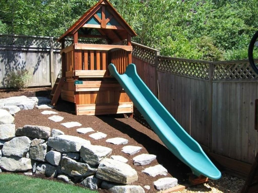 Gorgeous Backyard Playground Kids Design Ideas 06