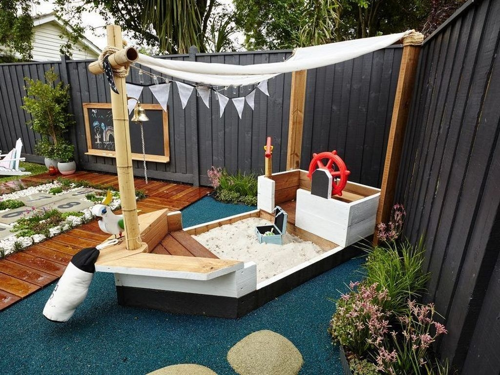 Gorgeous Backyard Playground Kids Design Ideas 09